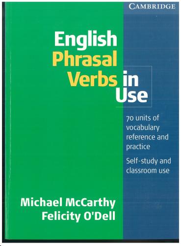 English prasal verbs in use