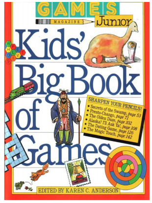 Kid's book of games