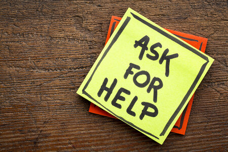 Ask for help during your journey